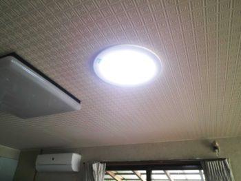 超省エネ照明取付(太陽光を利用するスカイライトチューブ)